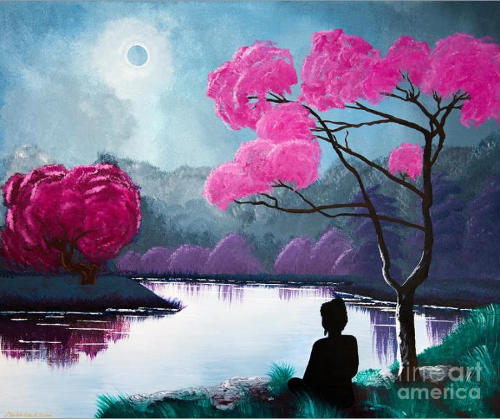 """""""Buddha by the Lake"""""""