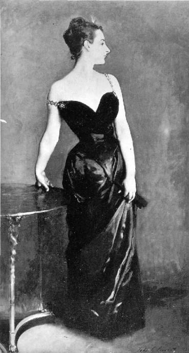 Photo of original Madame X