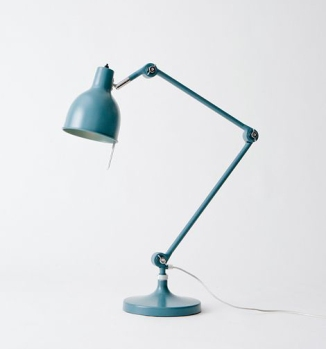 Steel and aluminium architectural lamp by Ӧrsjӧ Belysning