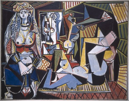 "Picasso ""Women of Algiers"" 1955"