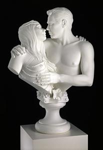 Jeff Koons, Bourgeois Bust - Jeff and Ilona.746x560