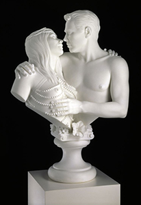 Jeff Koons, Bourgeois Bust - Jeff and Ilona.746x560