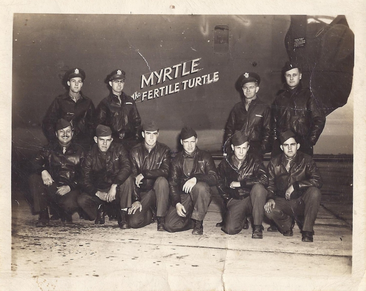 The Brave Men of Myrtles Fertile Turtle and later of the Judith Lynn. Grandpa is 3rd from the left, kneeling.