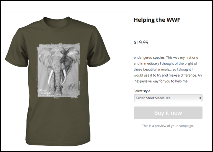 Click this image to go to the campaign site and purchase this shirt.