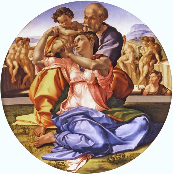 The Doni Tondo - Michelangelo 1504-1506