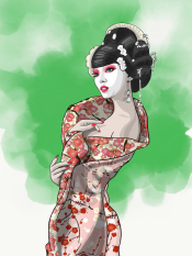 Green Geisha